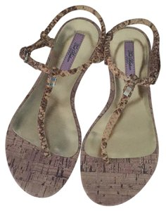 Ted Baker Nude Exotic Sandals