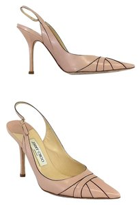 Jimmy Choo Light Pink Leather Sandals