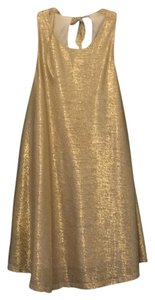 Tobi short dress Gold on Tradesy