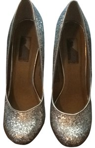 Urban Outfitters Silver Pumps