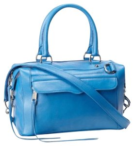Rebecca Minkoff Classic Minimab Satchel in Cerlurean blue