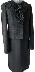 Ann Taylor Steampunk Evening Lace Black Jacket