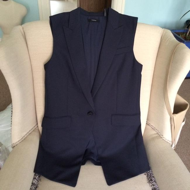 Theory Blazer Spring Summer Office Current Vest Image 1