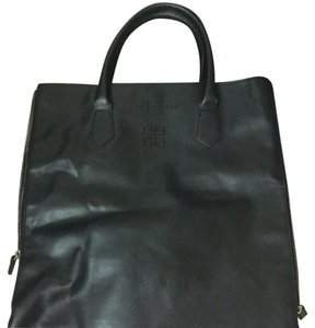 Givenchy Tote in Black With Gold Zippers