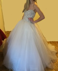 KENNETH POOL Olympia Bridal Ball Gown Wedding Dress