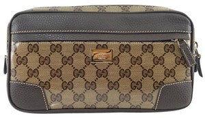 Gucci Belt Fanny Pack Fanny Pack Pocket Brown Travel Bag