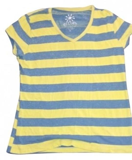 Preload https://item5.tradesy.com/images/delias-green-and-blue-v-neck-vee-neck-stripes-sleeves-tee-shirt-size-16-xl-plus-0x-166289-0-0.jpg?width=400&height=650