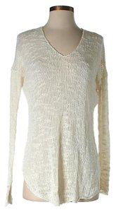 Helmut Lang Silk V-neck Sweater