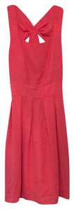 Monteau Los Angeles short dress Coral on Tradesy