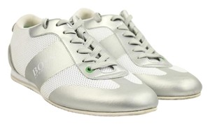 Hugo Boss White Silver Athletic