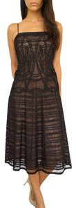 BCBGMAXAZRIA Bcbg Evening Mesh Dress