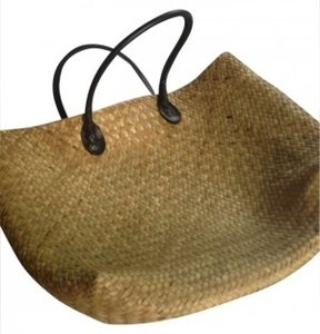 Other Pool Straw Summer Spring Tan Travel Bag
