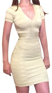 French Connection Bandage Summer Spotlight Bodycon Pastel Dress