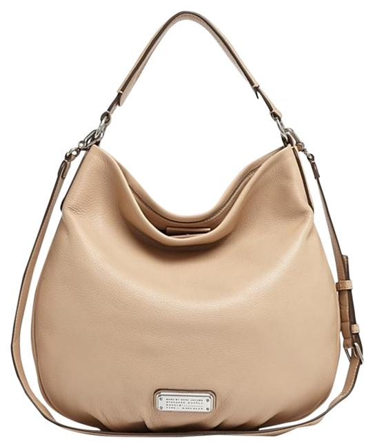 Item - Crossbody New Q Hillier Convertible / Cameo Nude Leather Hobo Bag