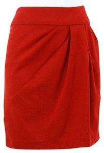 Dalia Collection Asymmetrical Draped Mini B134 Mini Skirt