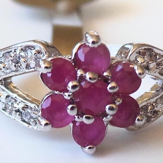 Preload https://item5.tradesy.com/images/unknown-lovely-dainty-natural-ruby-925-sterling-silver-cocktail-ring-7-1663124-0-1.jpg?width=440&height=440