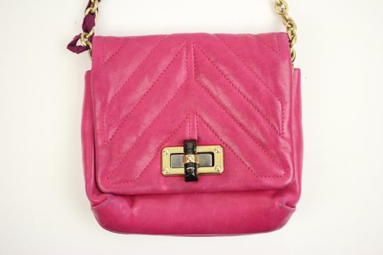 Lanvin Leather Evening Ghw Cross Body Bag