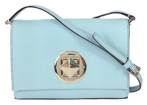Kate Spade Saffiano Leather Turnlock Cross Body Bag