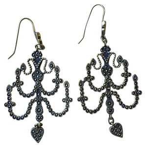 Jean-Paul Gaultier Jean Paul Gaultier Bronze Chandelier Earrings