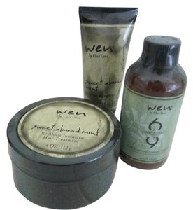 Wen by Chaz Dean Wen By Chaz Dean Hair Care. 3 Products Package.