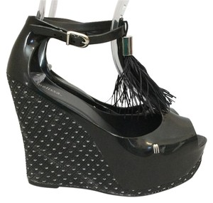 Melissa Black Wedges