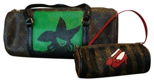 Louis Vuitton Wicked Wizard Of Oz Witch Set Exclusive Tote in Brown Monogram Painted