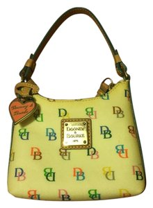 Dooney & Bourke Monogram Rainbow Hobo Bag