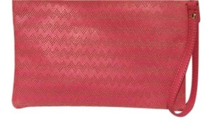 Shiraleah Vegan Leather Hot Pink Clutch
