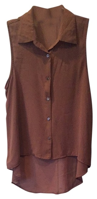 Preload https://item3.tradesy.com/images/forever-21-brown-blouse-size-4-s-1663487-0-0.jpg?width=400&height=650