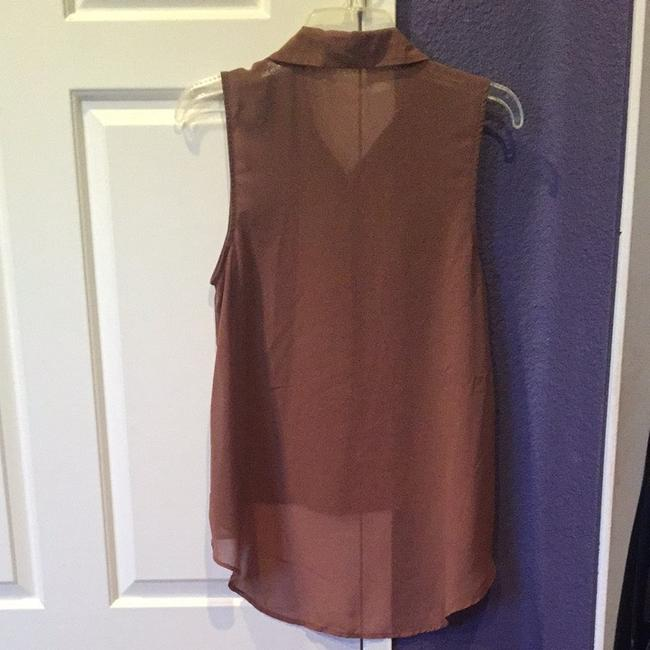 Forever 21 Top Brown