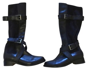 Cole Haan Nike Air Technology Riding Black Boots