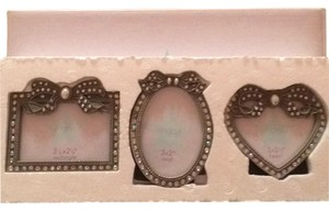 Macy's Set Of 3 Mini-picture Frames