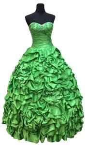 Mori Lee Quinceanera Quince Green Cotillion Vizcaya Sweet 16 Xv Xvi Dress