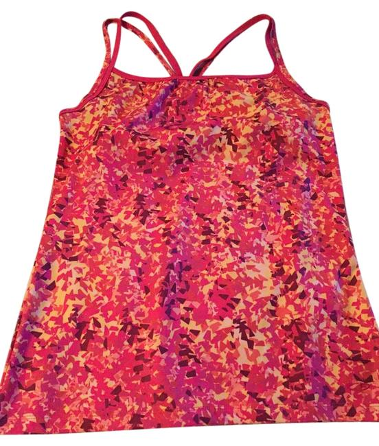 Item - Pink Patterned Workout Activewear Top Size 8 (M, 29, 30)