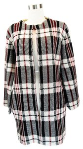 Lulumari Plaid Warm Stylish Trench Coat