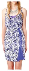 Greylin short dress Blue on Tradesy