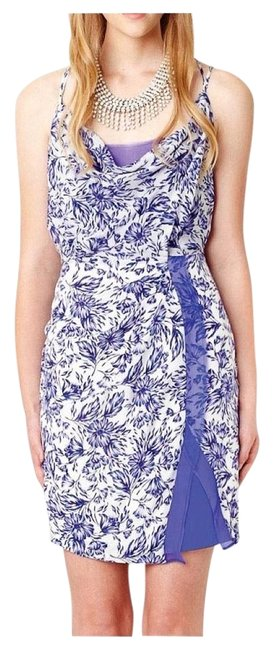 Preload https://img-static.tradesy.com/item/16635703/greylin-blue-floral-print-dahlia-silk-ruffle-front-layered-above-knee-short-casual-dress-size-4-s-0-1-650-650.jpg