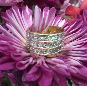 Macy's Three-Row Diamond Band
