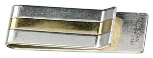 Tiffany & Co. * Tiffany & Co 18k (750) Yellow Gold and Sterling Silver Money Clip