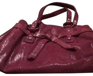 Rafe Satchel in Plum Iridescent