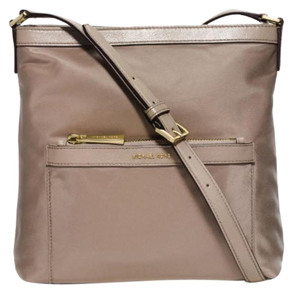 507c207b2f0f Michael Kors Morgan Messenger Dusk  Gold Tone Nylon Cross Body Bag ...