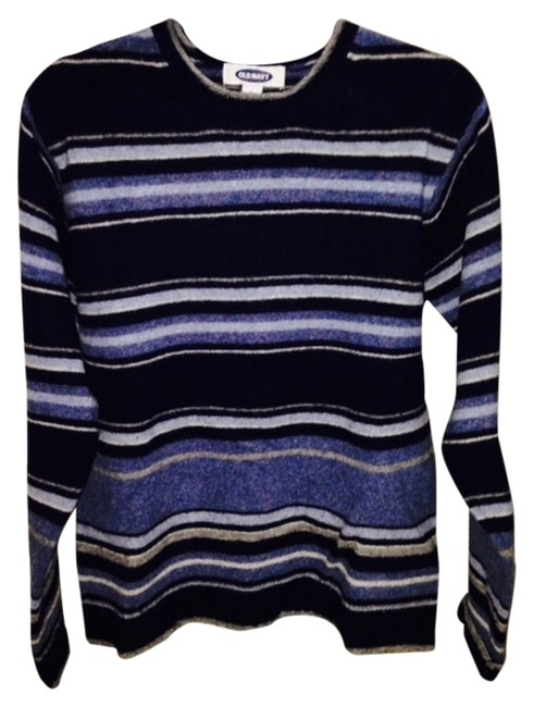 Preload https://item4.tradesy.com/images/old-navy-blue-sweaterpullover-size-12-l-1663698-0-0.jpg?width=400&height=650