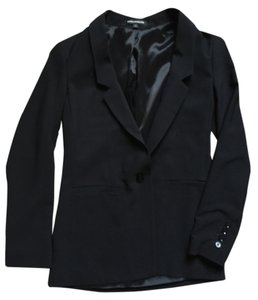Express Suit Jacket 2 Xs Black Blazer
