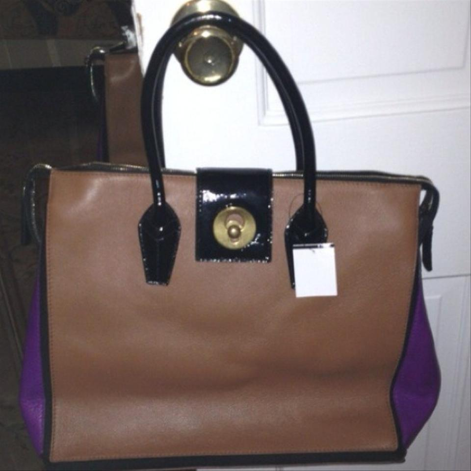 ysl yves - Saint Laurent Ysl Muse Two Cabas Brown & Purple Tote Bag on Sale ...