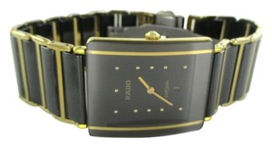 Rado RADO DIASTAR WATCH GENTS DATE 160 0282 3 BRACELET LINKS HIGH TECH CERAMIC STEEL