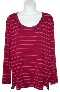 Anthropologie Knit Striped Jersey New T Shirt