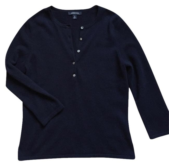 Lands' End Button Up Sweater