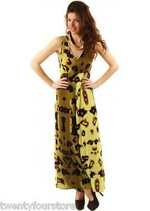 One Teaspoon Tainted In Bloodstone Multi Animal Print Dress