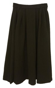 H&M Midi Skirt Black