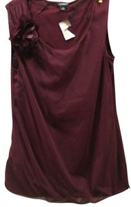 Ann Taylor Top burgundy